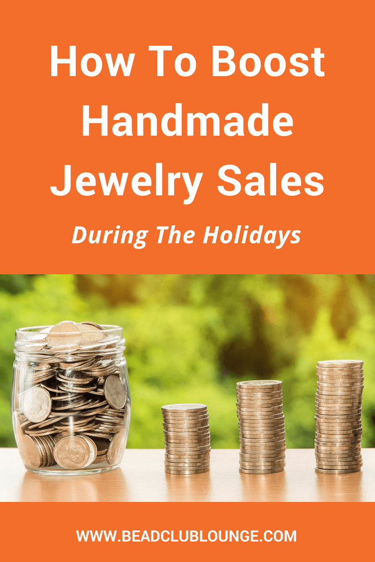 Crafts make great gifts. If you want to make money selling handmade jewelry during the holidays, here are some simple tips to increase your sales.