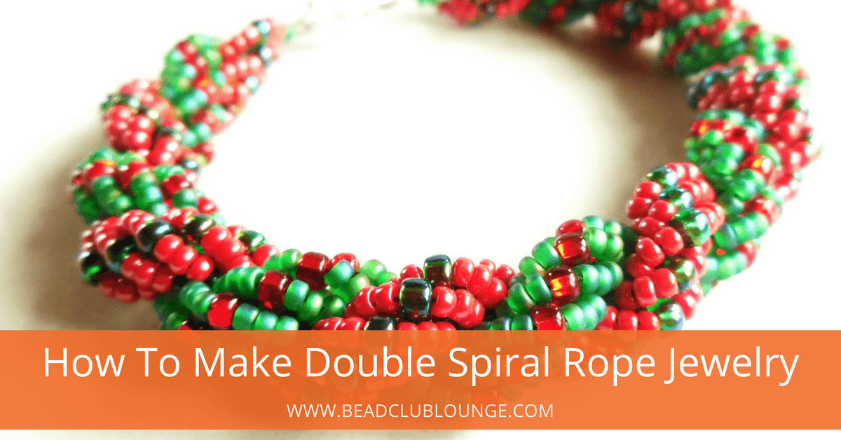 How To Make Double Spiral Rope Jewelry- The Bead Club Lounge
