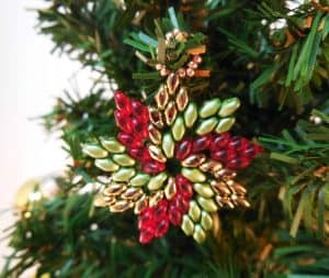 Pinwheel Ornament Beading Pattern - The Bead Club Lounge