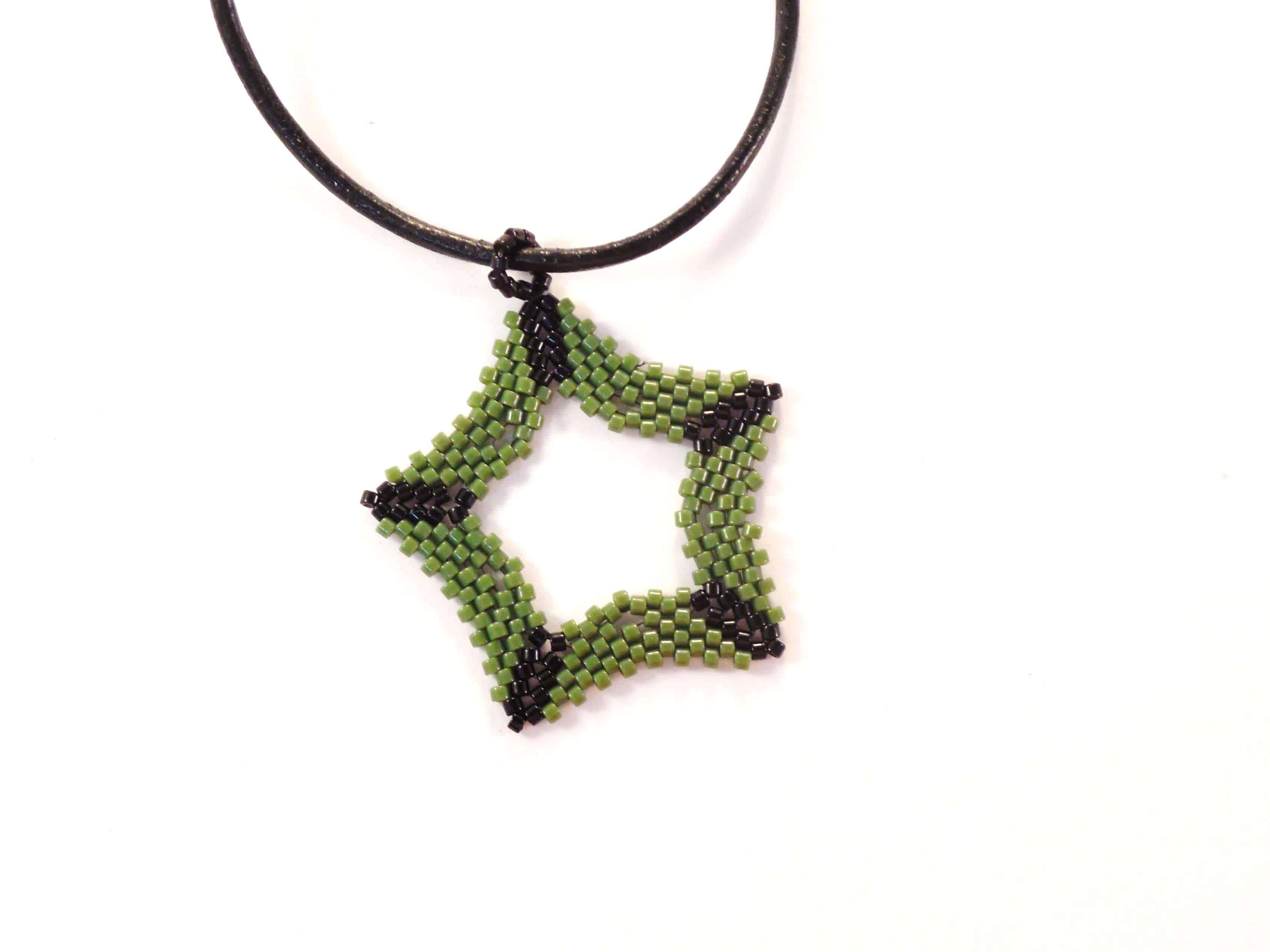 Five Pointed Star Ornament - The Bead Club Lounge