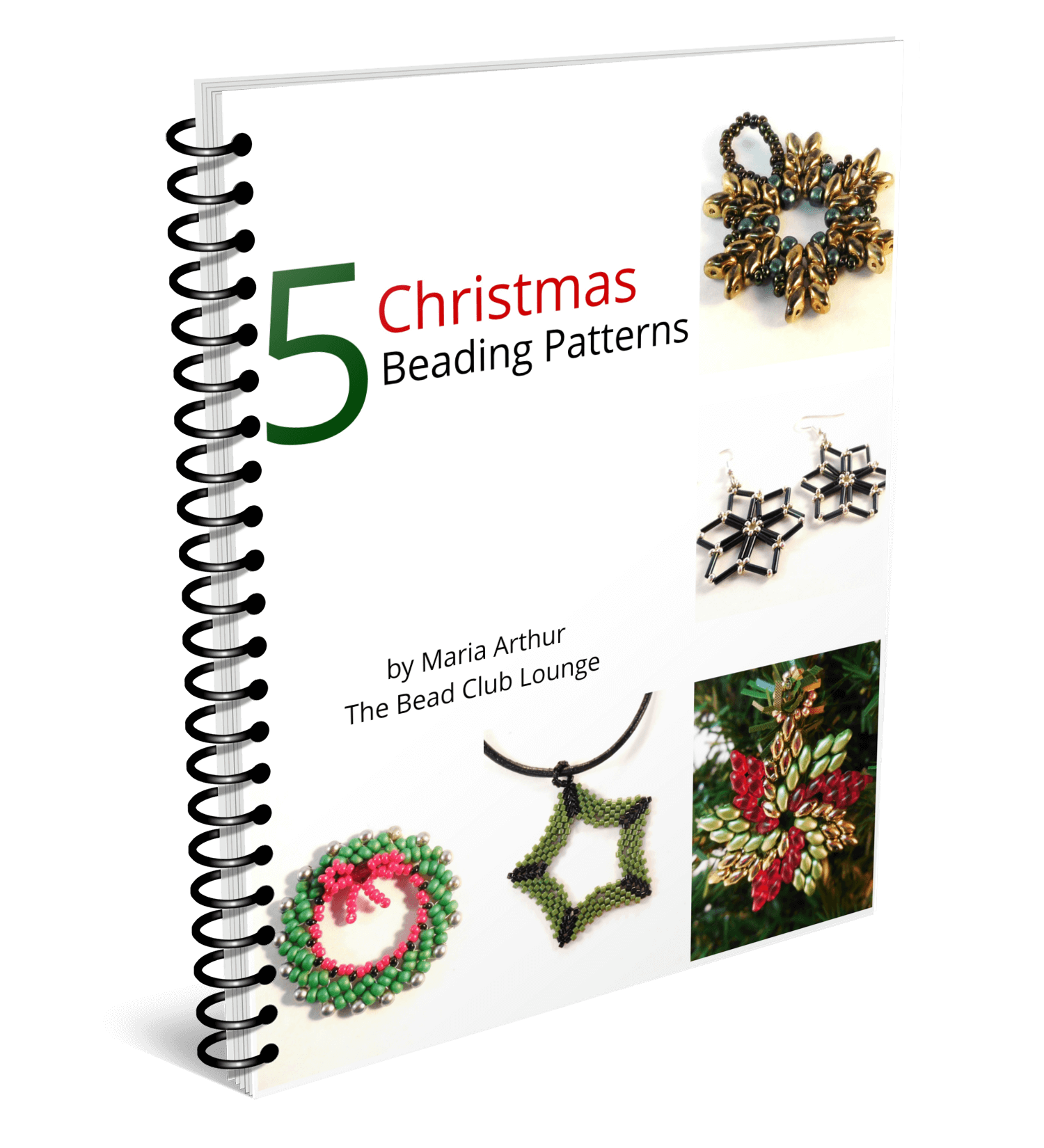Download this collection of Christmas beading patterns.