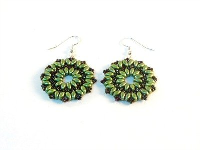 Starburst Earrings by The Bead Club Lounge