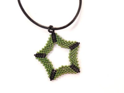 Five-Pointed Star by The Bead Club Lounge