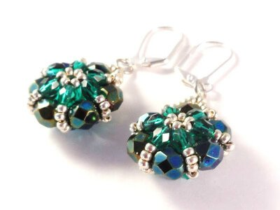 Floret Earrings by The Bead Club Lounge