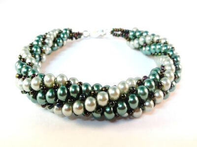 Twist and Turn Bracelet by the Bead Club Lounge