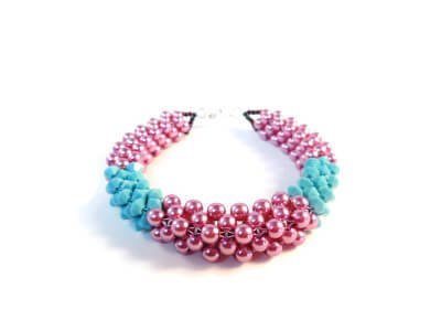 Banded Bracelet by The Bead Club Lounge