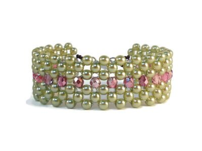 Middle of the Road Bracelet by The Bead Club Lounge