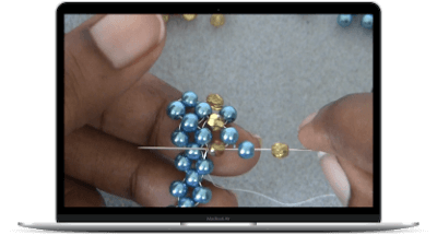 Single Needle Bracelet Course by The Bead Club Lounge