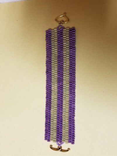 Peyote Stitch bracelet by A. Hudson