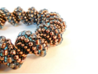 Cellini Spiral bracelet pattern by The Bead Club Lounge
